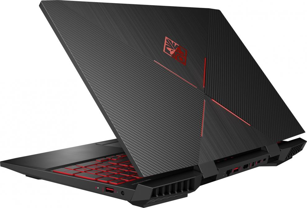 "UPGRADED HP Omen 15-dc1003nu, 15.6"" FHD IPS 144Hz, i7-8750H, 16 GB, 1TB HDD, RTX 2060, Win 10"