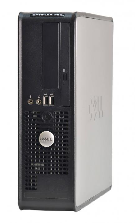 Двуядрен Dell Optiplex 780 SFF, E7500, 4GB, 160GB HDD