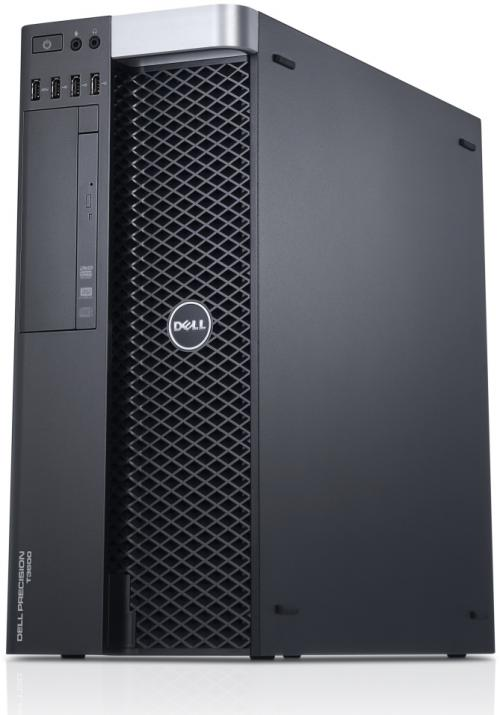 Dell Precision T3600 Tower, Xeon E5-1650 V1, 32GB RAM, 600GB SAS, Quadro 4000, DVD, Win 10 Pro