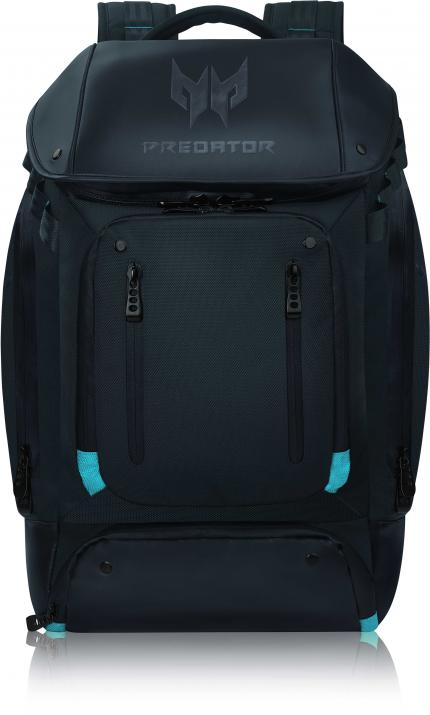 "Раница за лаптоп 17.3"" Acer Predator Gaming Utility Backpack Black with Teal Blue"