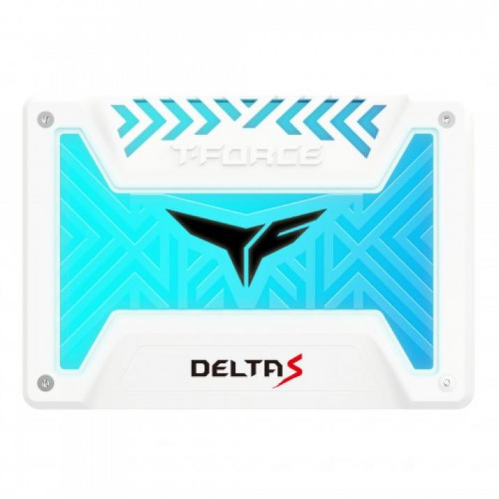 Solid State Drive (SSD) Team Group T-Force Delta S RGB 1TB White