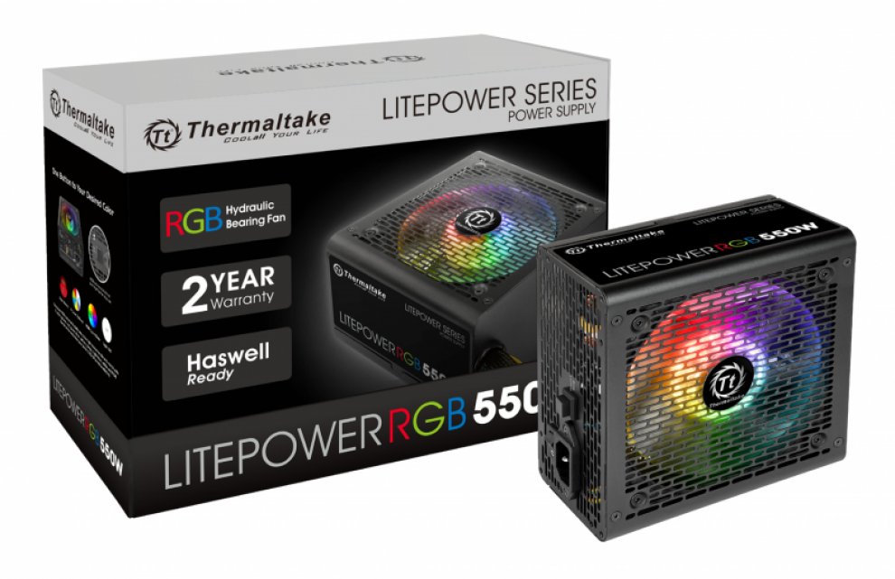 Захранващ блок Thermaltake Litepower 550W RGB