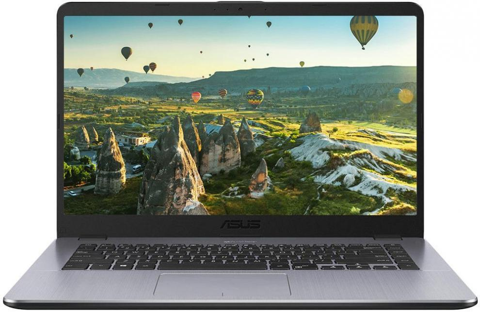 "UPGRADED ASUS VivoBook 15 X505ZA-BQ298 | 90NB0I11-M04980 | 15.6"" FHD, AMD Quad-Core R7-2700U, 4GB, 1TB, 256 GB SSD, RX Vega 10, Сив, Win10 Pro"
