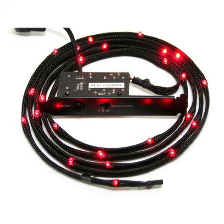 Led лента NZXT Sleeved LED Kit 1m Red CB-LED10-RD