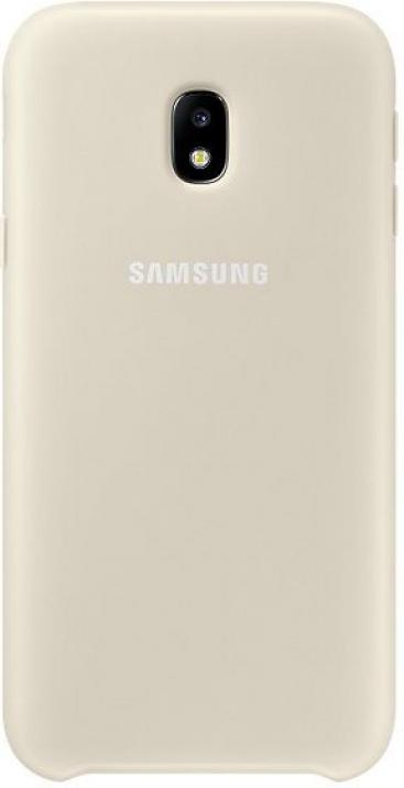 Гръб за Samsung Galaxy J330 (EF-PJ330CFEGWW), Dual Layer Cover, Златист