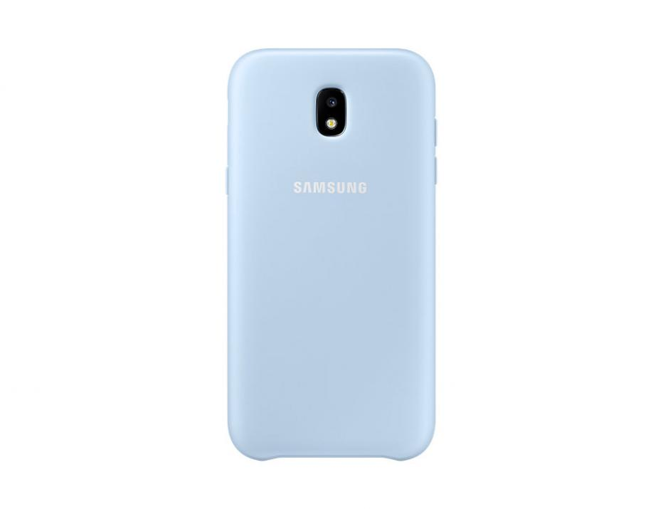 Гръб за Samsung Galaxy J5 (2017) (EF-PJ530CLEGWW), Dual Layer Cover, Син