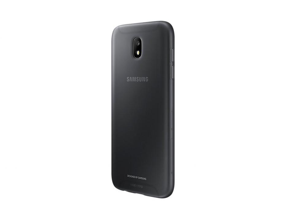 Гръб за Samsung Galaxy J5 (2017) (EF-AJ530TBEGWW), Jelly Cover, Черен
