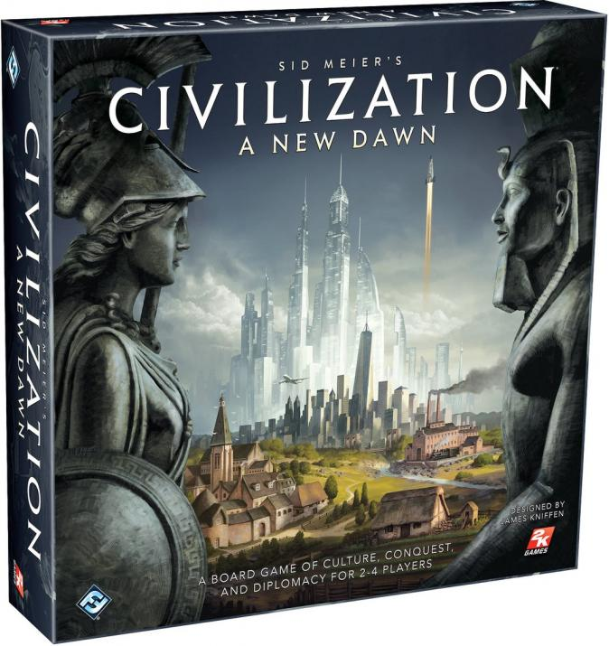 "Настолна игра ""Sid Meier's Civilization: A new dawn"" - английско издание"