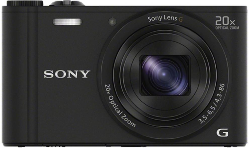 Цифров фотоапарат Sony Cyber Shot DSC-WX350 black 1