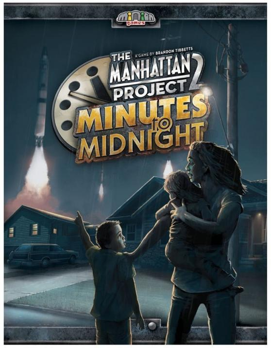 Настолна игра The Manhattan Project 2: Minites to midnight - Английско издание