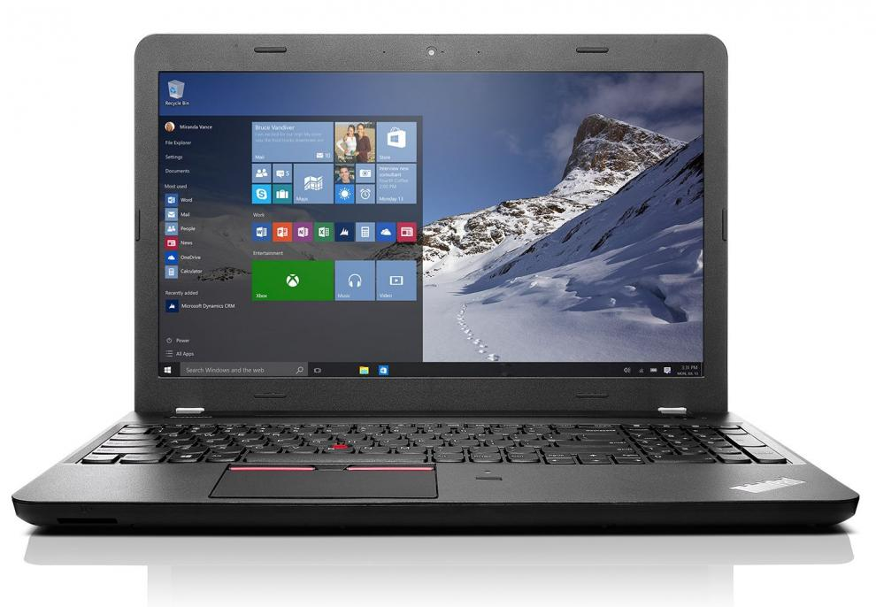 "UPGRADED Lenovo ThinkPad E560, 15.6"" HD (1366 x 768)AG, i3-6100U, 16 GB RAM, 120 GB SSD, Cam"