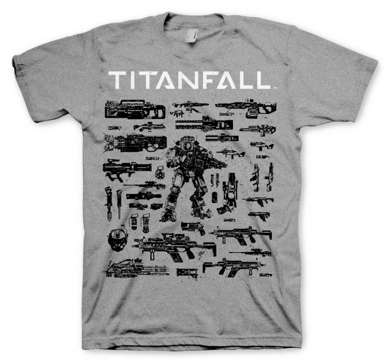 Тениска GAYA TITANFALL, CHOOSE YOUR WEAPON, размер L