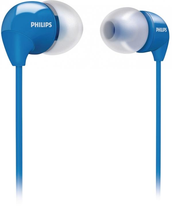 Слушалки Philips SHE3590BL - Сини 1