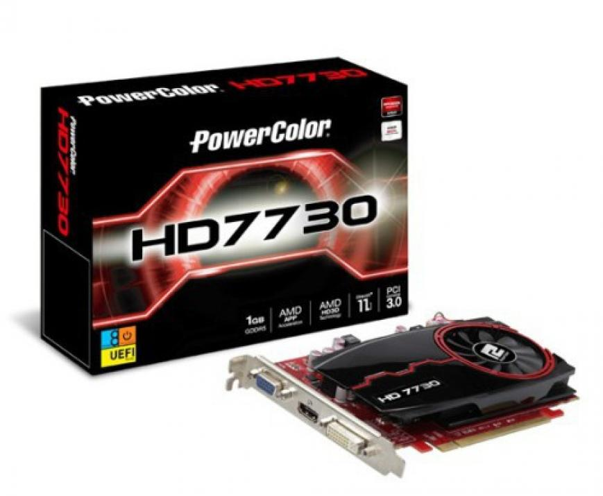 Видео картa PowerColor HD7730, 1GB, GDDR5