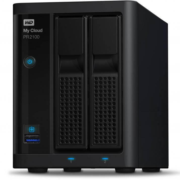 Мрежов сторидж Western Digital My Cloud PR2100 4TB (WDBBCL0040JBK)
