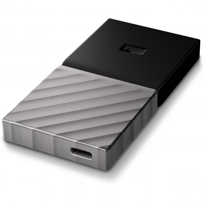 SSD диск 256GB Western Digital My Passport USB 3.1 (WDBK3E2560PSL-WESN)
