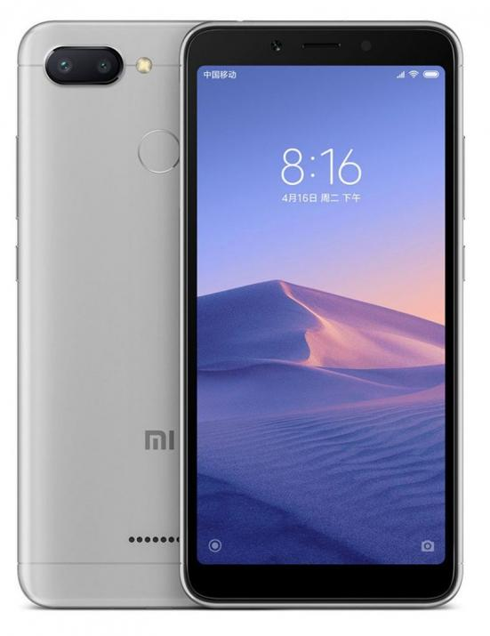 "Xiaomi Redmi 6 5.45"" HD+(720 x 1440), 32GB, Сив 1"