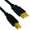 VCom Кабел USB 2.0 AM / BM High Grade GOLD - CU201G-B-1.8m
