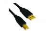 VCom Кабел USB 2.0 AM / BM High Grade GOLD - CU201G-B-3m