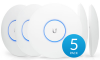 Access Point Ubiquiti UAP-AC-PRO 1300 Mbit/s 3х3dBi антени 5 Pack 1
